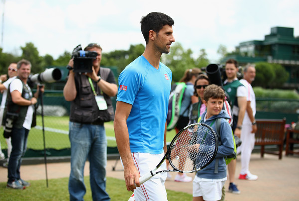 Djokovic Banned from Bike-Riding at Wimbledon