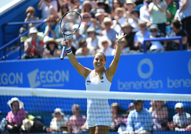 Watch: Cibulkova to Face Pliskova in Eastbourne Final
