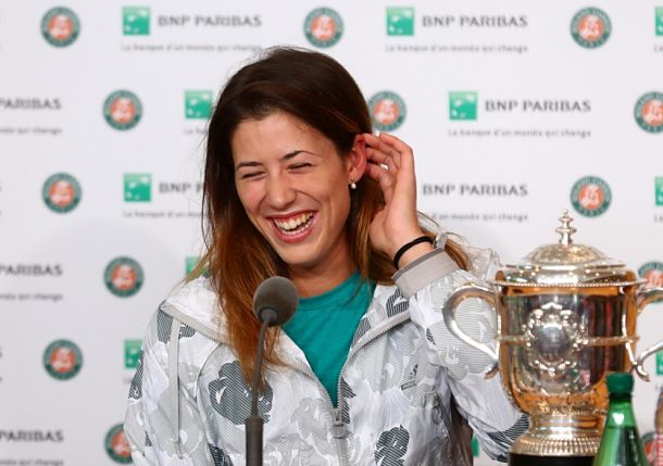 Tweeting the Roland Garros Women's Single Final