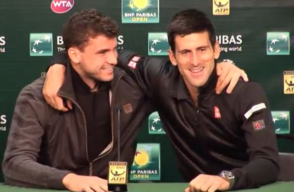 Video: Dimitrov is not Afraid of anybody, even Novak Djokovic