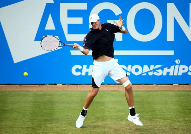 Isner Wins, Del Potro Entertains