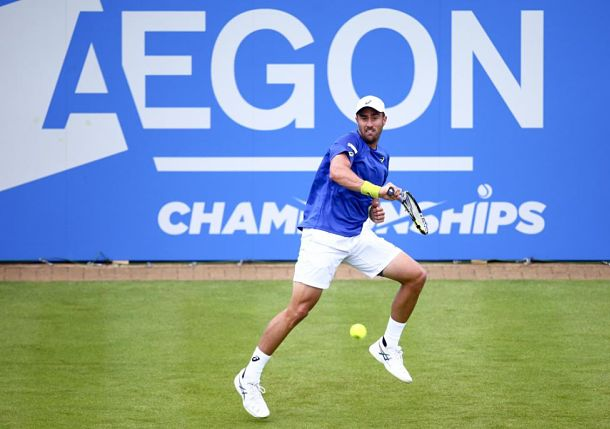 Johnson Stuns Gasquet at Queen's