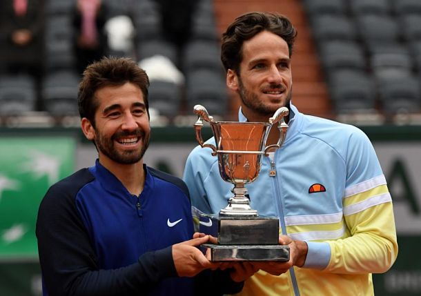 Marc and Feliciano Lopez Win Roland Garros Doubles Title