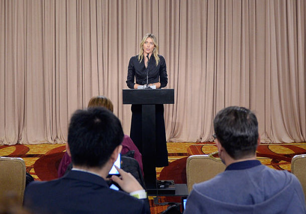 Sharapova's Attorney Blasts WADA President's Remarks