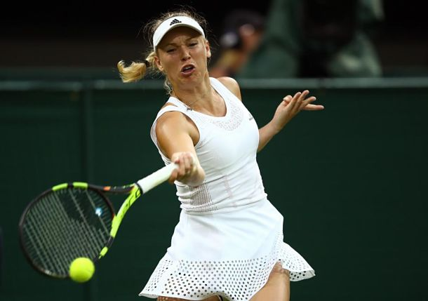 Wozniacki Trying to Cope with Cold Spell