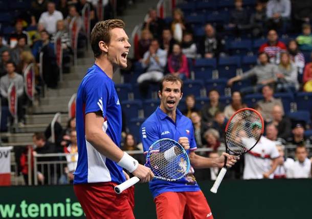 Czech Republic, Croatia Exert Davis Cup Doubles Strength