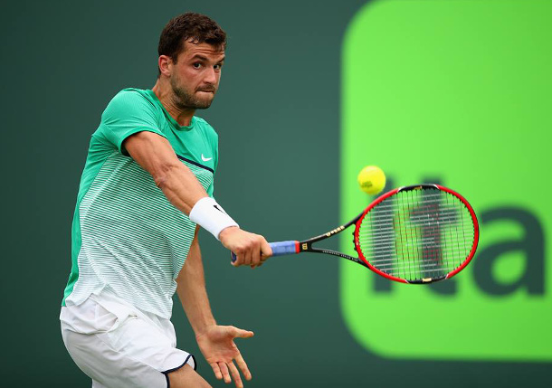 Dimitrov Rallies Past Murray in Miami