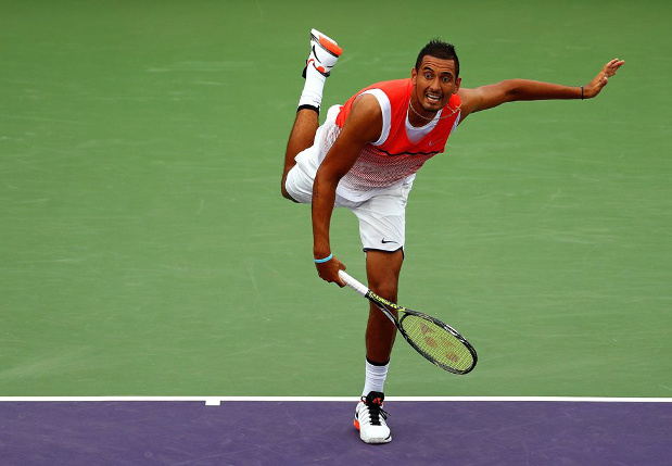 Kyrgios Into Miami Semifinals, Cracks Top 20