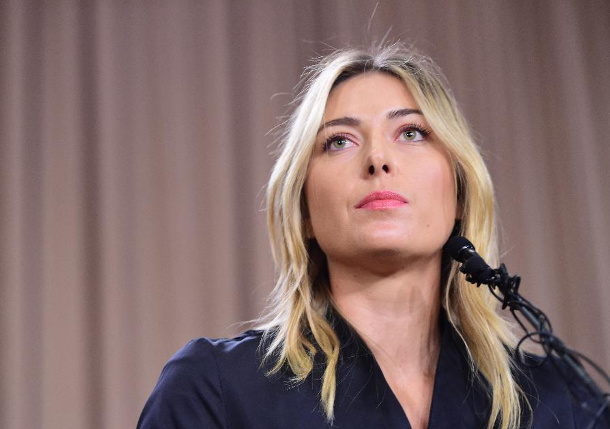 Sharapova Failed Drug Test at Australian Open