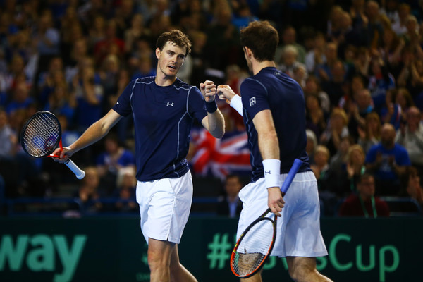 Murrays Double Up for Davis Cup Win Over Japan