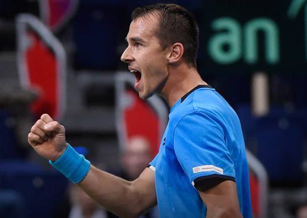 Rosol Sends Czechs Into Davis Cup Quarterfinals