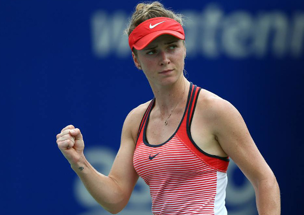 Svitolina Subdues Bouchard in Wild KL Final