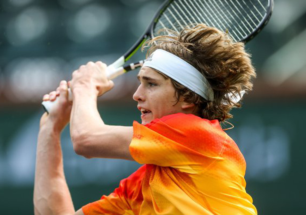 Zverev Downs Dimitrov in Indian Wells