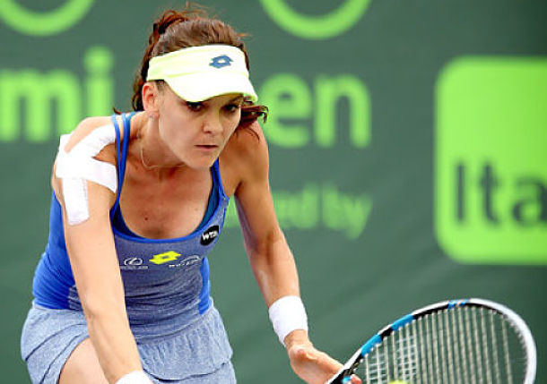 Red-Hot Radwanska Opens Strong in Miami