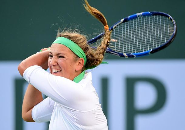 Total Shutdown of Rybarikova Lands Azarenka in Indian Wells Semis