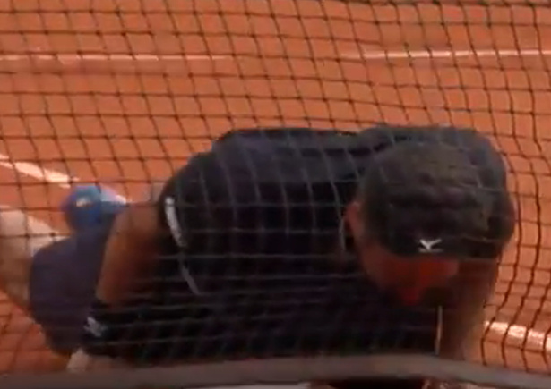 Watch: Baghdatis' Drop & Dive