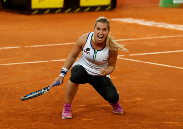Cibulkova Drops Nine Straight Games, Rallies To Top Garcia