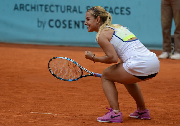 Cibulkova Rallies, Halep Only Seed Standing In Madrid