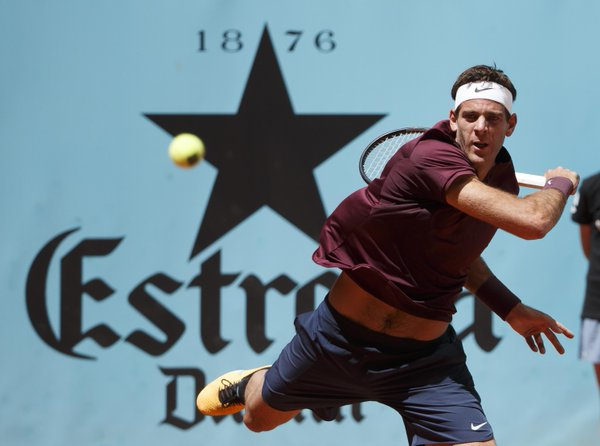 Del Potro Downs Thiem in Madrid Return