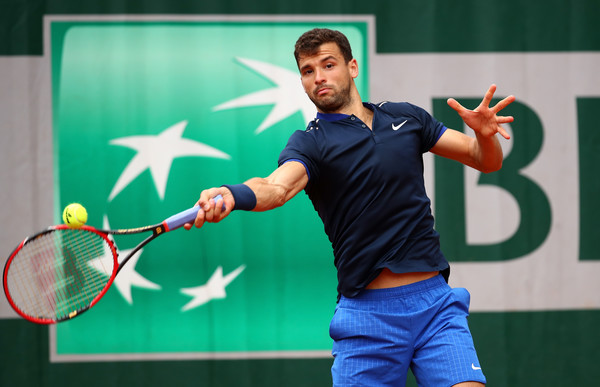 Cilic and Dimitrov Crash Out in Roland Garros Openers