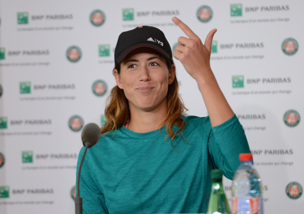 Muguruza Turns Page, Rolls Into RG Third Round