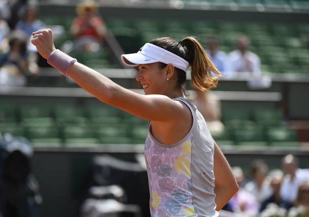 Muguruza Downs Kuznetsova For Quarterfinal Return