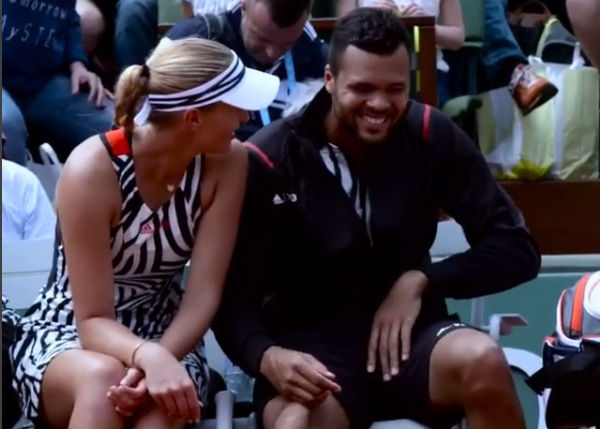 Watch: Twins Thrill Mladenovic, Tsonga