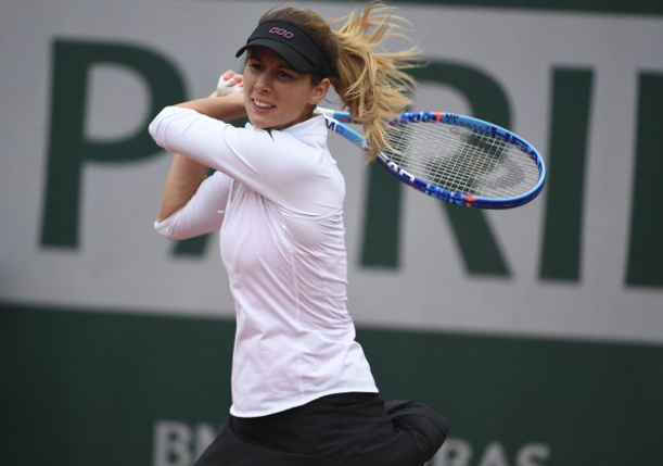 Pironkova Upsets Second-Seeded Radwanska