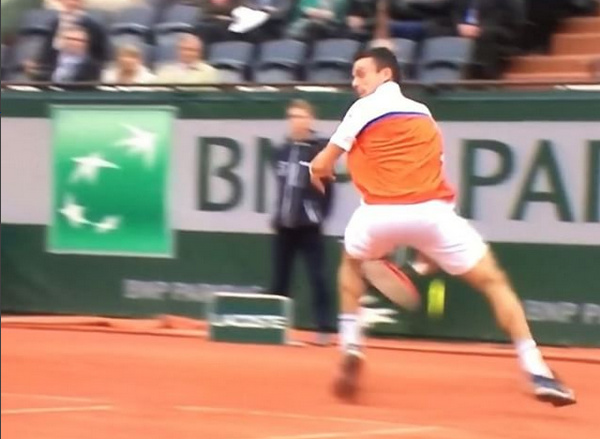 Watch: Bautista Agut Whiffs On Tweener