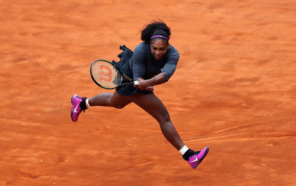 Serena Sets Up All-American Final With Keys in Rome