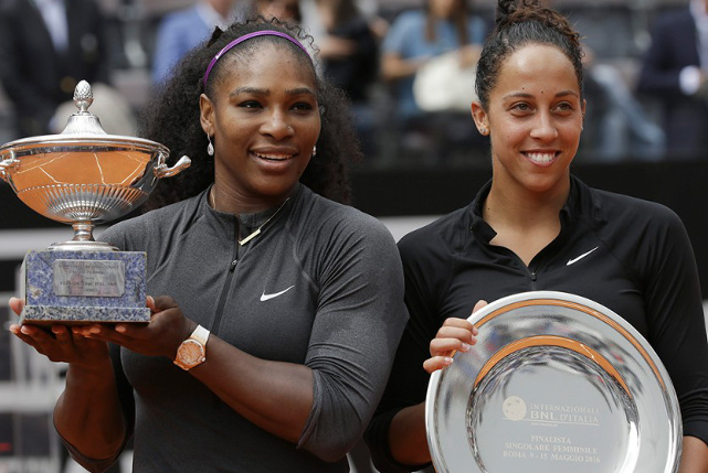 Serena Conquers Keys For Fourth Rome Crown