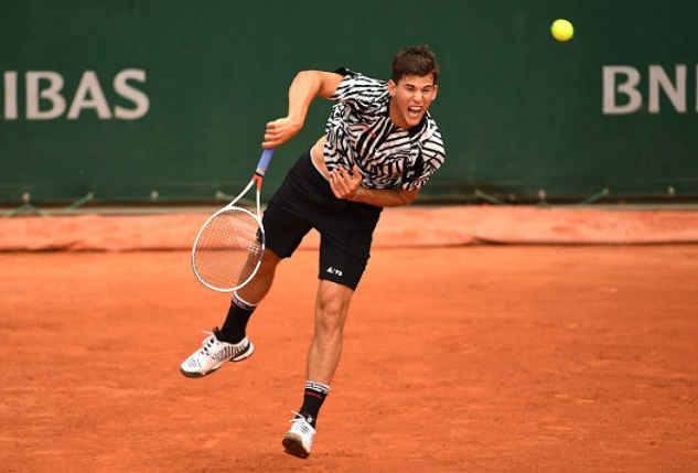 Thiem Tops Zverev In Clash of Rising Stars