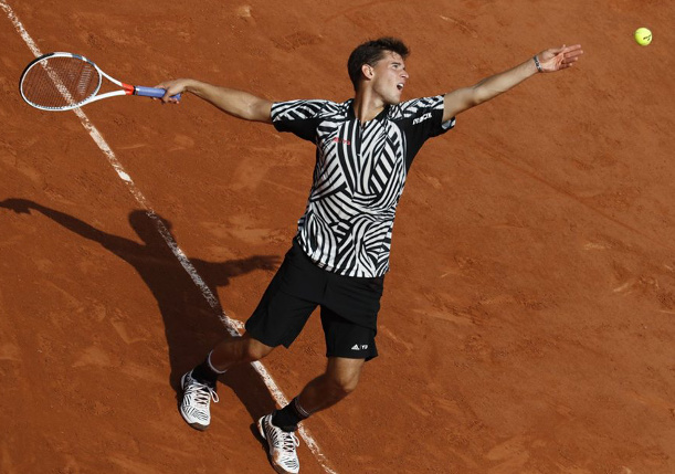 Watch: Thiem Tunes Up