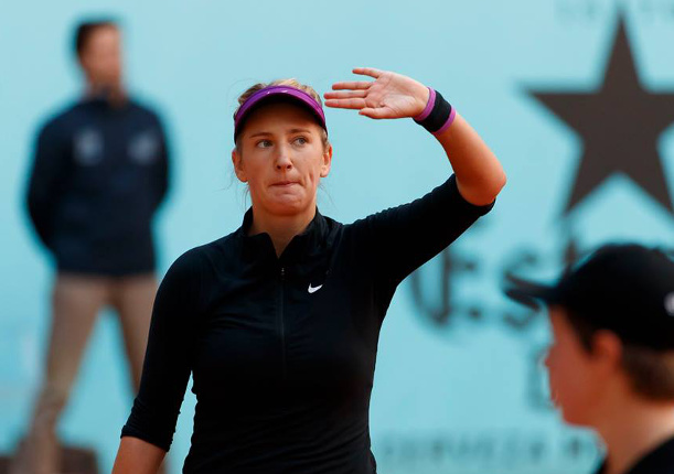 Watch: Azarenka Withdraws, Kvitova Falls in Madrid
