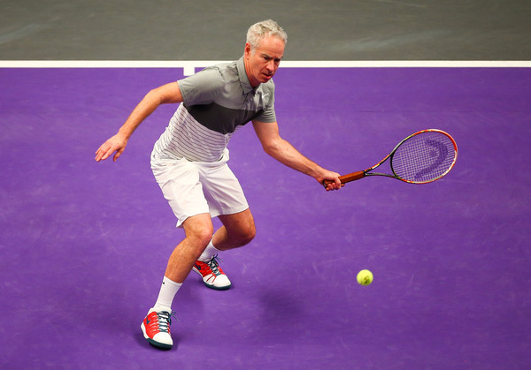 Watch: McEnroe Plays Guitar With Tennis Strings