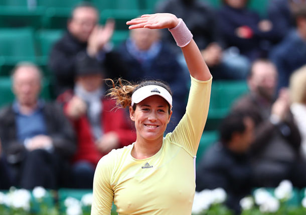 Shaky Muguruza Moves on in Paris