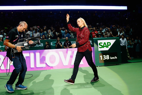 Navratilova Feeling the Sharapova Void