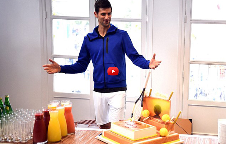 Novak's Party Week-How Players Relax in Paris
