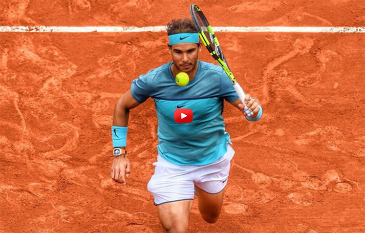 Nadal's Magic Shot-ATP Response to Gambling-Roof For Roland Garros