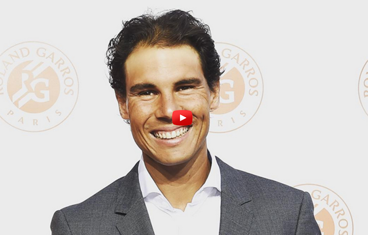 Rafa Plays Soccer/Tennis-Roger Models-Novak Tunes Up-Serena's Secret