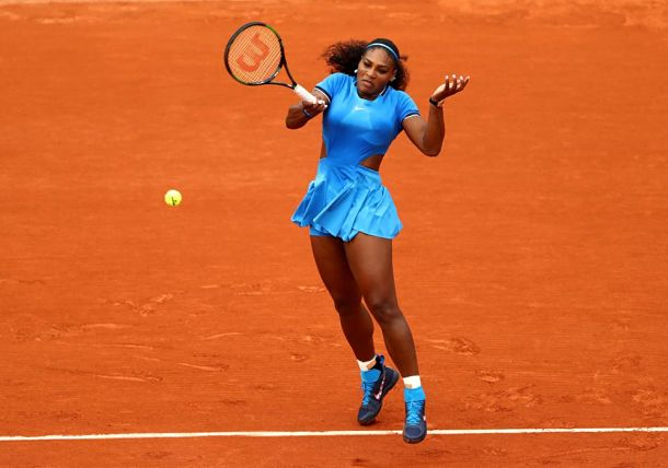 Serena Williams Marches On in Paris