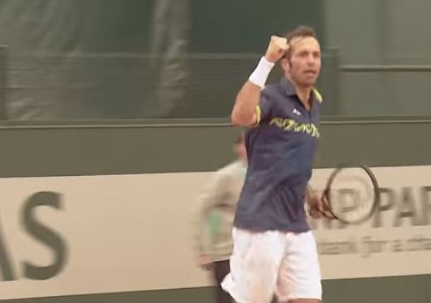 37-year-old Stepanek progressing at Roland Garros qualies