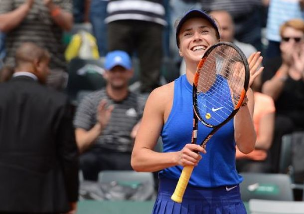 Svitolina Ends Run of Futility against Ivanovic