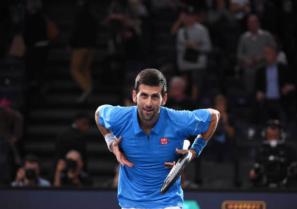 Djokovic Rallies Past Dimitrov Into Paris Quarterfinals