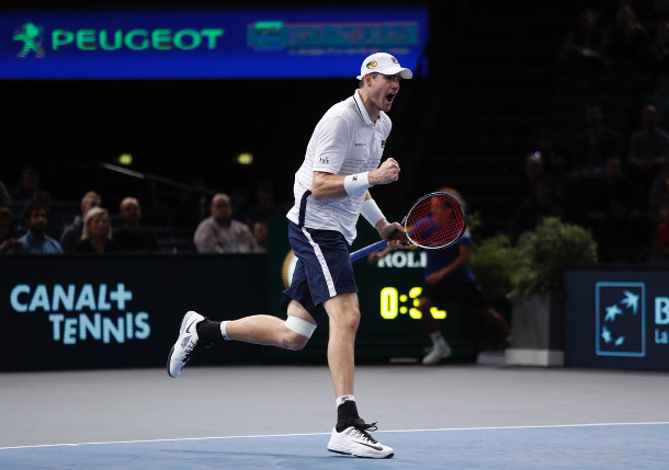 Isner Blasts By Cilic Into Paris Final