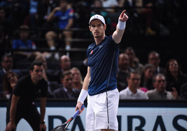 Murray Wins Paris Masters with 19th Straight Victory