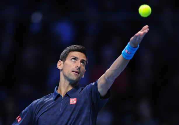 Djokovic Dismisses Goffin In London