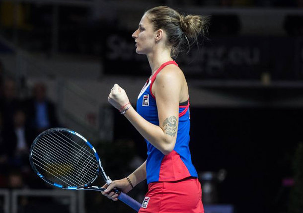 Pliskova Edges Mladenovic in Fed Cup Final Thriller