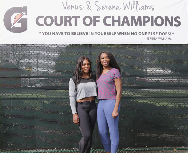 Venus and Serena Return To Compton, Honor Late Sister