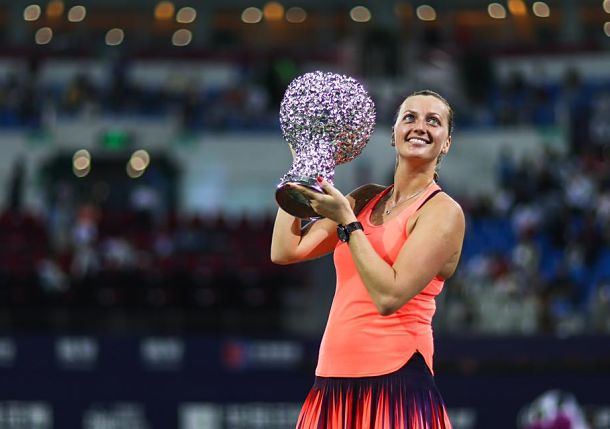 Kvitova Claims 19th Career Title with Win over Svitolina in Zhuhai
